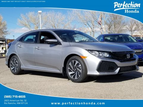 New 2018 Honda Civic Hatchback LX