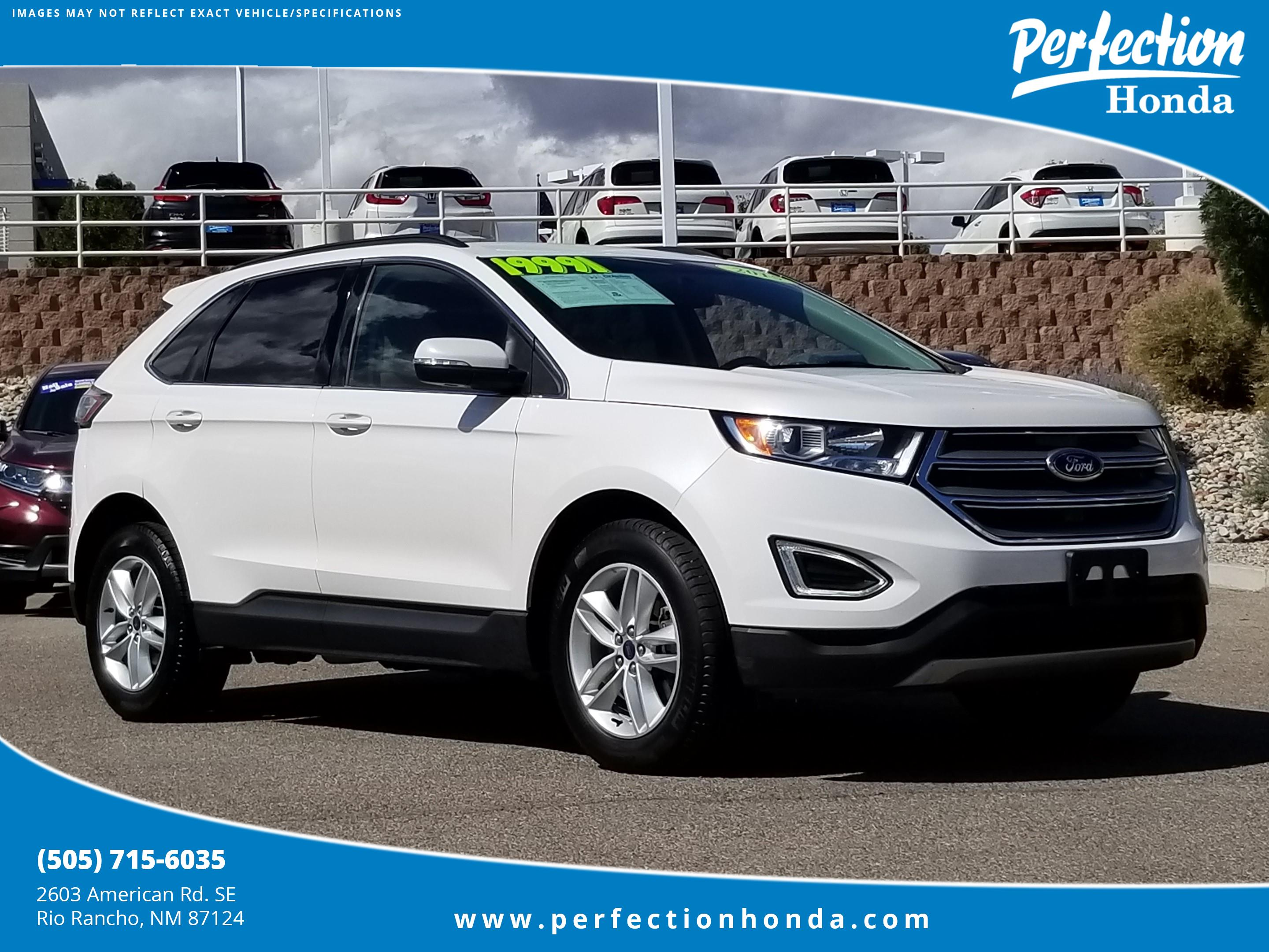 Pre Owned  Ford Edge Sel Sport Utility In Rio Rancho T Perfection Honda